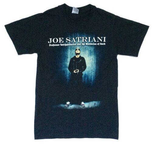 Joe Satriani Professor Mysterion Of Rock Tour 2008 Black T Shirt New Official