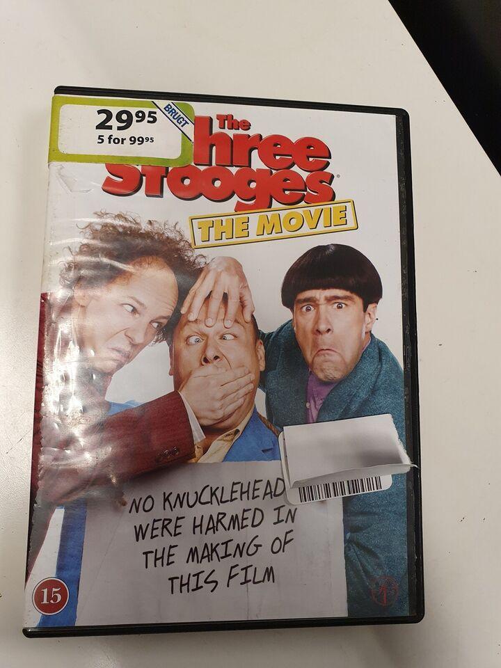 The three stooges the movie, DVD, komedie