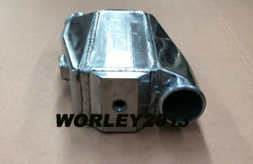 "Universal aluminum intercooler water to air front mount 12/""x12/""X4.5/"""