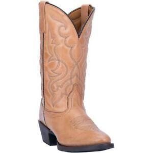 Laredo-Maddie-51111-Womens-Tan-Leather-Western-Boots