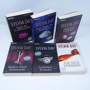 SYLVIA-DAY-Leidenschaft-Verlangen-Stolz-Sehnsucht-Geliebter-Entbrannt-6x-Buch