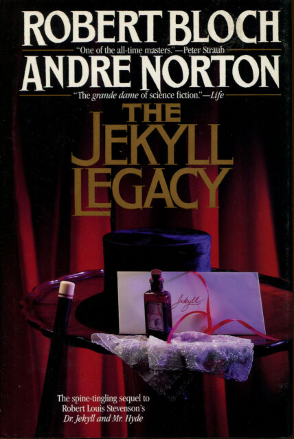 The Jekyll Legacy by Robert Bloch & Andre Norton-First Edition/DJ-1990