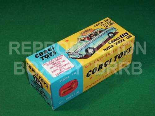 Escuela de conducción de Corgi #236 Austin A60-Caja de reproducción por drrb