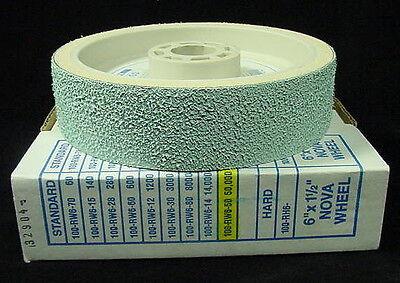 "TOP 6/"" grit 50000 lapidary diamond resin cabbing wheel 50000grit soft nova"