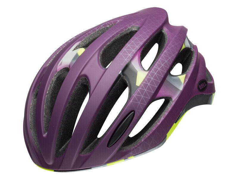 Bell Formula bel-7088562 Fahrrad Helmet Mat Plum Deco