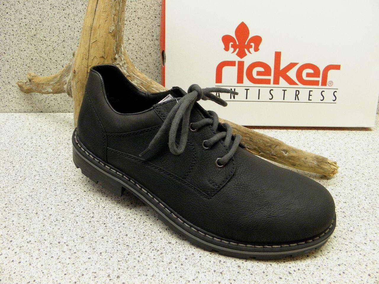 Rieker ® ROTuziert  TEX schwarz  +  gratis Premium - Socken  + (R411) 18c163