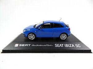 1:43 Fischer Seat Ibiza SC 2013 blue