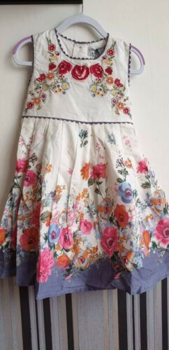Domino Girl Dress Party Summer Holiday Flower