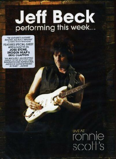 Beck, Jeff - Performing This Week..Live At Ronnie Scott's DVD NEU OVP
