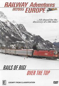 RAILWAY ADVENTURES ACROSS EUROPE RAILS OF RIGI & OVER THE TOP Region ALL
