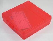 MTM Case Gard™ 100 Round Plastic Ammo Box 40 45acp 10mm P100-45-29 New