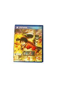 PS Vita One Piece: Pirate Warriors 3 FRA Très Bon état