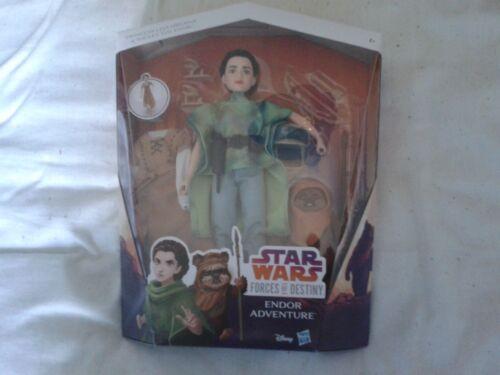 DISNEY STAR WARS Forces du destin Leia /& Wicket Endor Adventure Coffret Entièrement neuf dans sa boîte