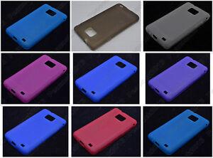 Multi-Color-Matting-TPU-Silicone-CASE-Cover-For-Samsung-Galaxy-S-II-S2-I9100