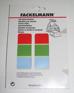 Set-de-100-Etiquettes-pour-Denrees-Alimentaires-Fackelmann-NEUF