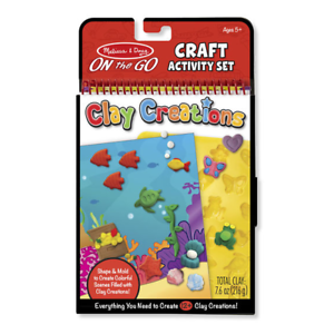Melissa-amp-Doug-On-The-Go-Craft-Activity-Set-Clay-Creations-NEW