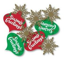Seasons Greetings Mini Cascade Table Centerpiece Winter Christmas Decoration