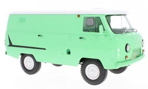 UAZ 452 452 452 Van  3741  Light verde 1:18 47070 e820af