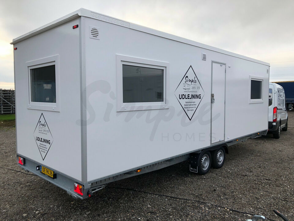 Multivogn m/ tekøkken 2 rums