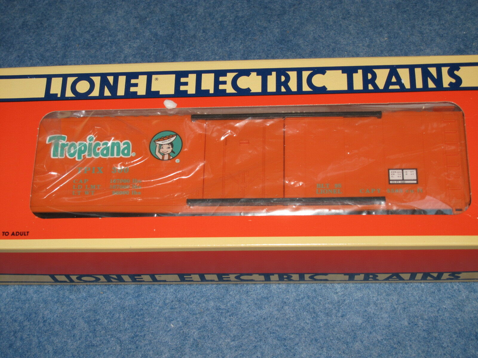 1995 Lionel 6-17307 Tropicana Reefer  1 L1468