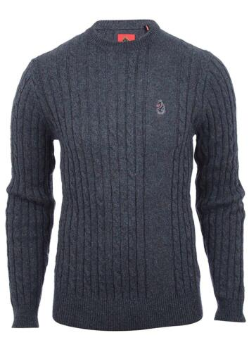 99 Knit 79 1977 Hortons Small £ Luke Morden Jumper Charcoal Size Premium Rrp FCaxBn7