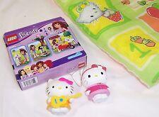 Lego Olivia Friends #41003, Hello Kitty Mini Quilt, Nodder, Ornament