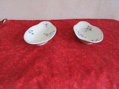 Continental Pottery Ambitious Art-déco Two Trays Porcelain Limoges Par Bernardaud & Cie 1900/1927