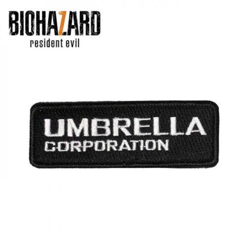 NEW Biohazard 7 Resident Evil PATCH Umbrella logo w// Magic Tape STARS F//S