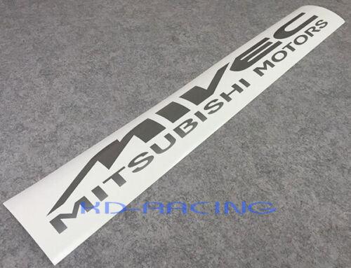 Mivec Windscreen Sticker Decals Ralliart Mitsubishi Motors Lancer Evo Free Ship