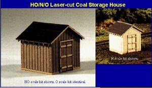 Blair-Line-083-Coal-Storage-House-Lagerhaus-N-1-160-Laser-Cut-Holz-Bausatz