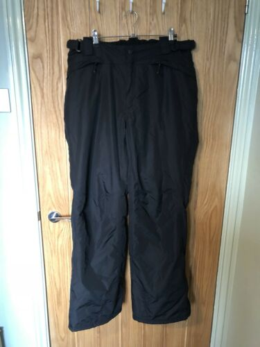 14 FIVE Black W34 L33 Ski Salopettes Trousers Skiing