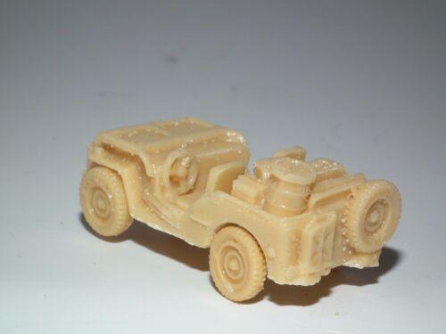 Zweiter Weltkrieg Alliierten Jeep mit Ladung 20MM Maßstab Harz Modell Satz A3