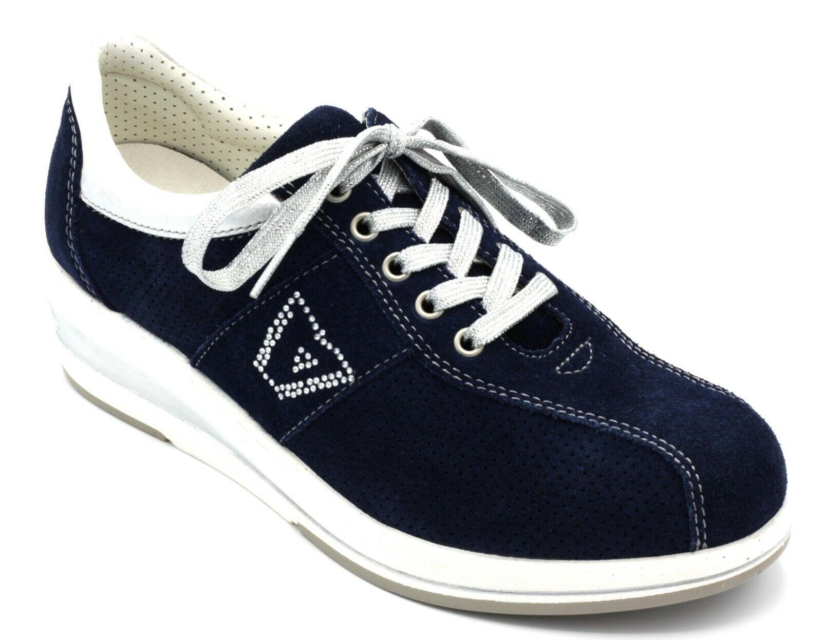 f8bd7eaf VALLEverde zapatillas zapatos mujer CON ZEPPA azul ALLACCIATE n.35 COL.  TENNIS npibmv2824-Zapatillas deportivas