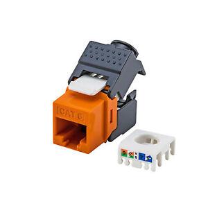 Sensational 1Pcs Gigabit Cat6 Keystone Jack Rj45 To Lsa Tool Free Connection Us Wiring Database Aboleterrageneticorg