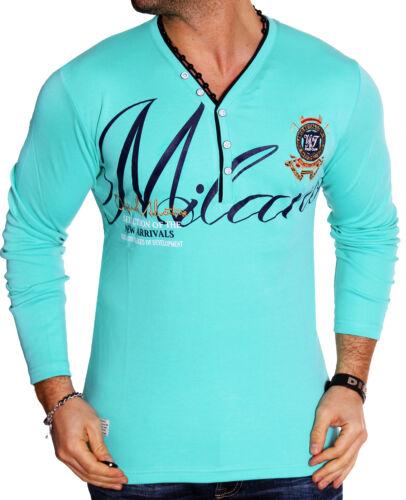 Men/'s Sweatshirt Long Sleeves Sweat Long-Sleeve T-Shirt T-Shirt Milan New L.1.16