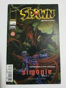 Spawn-N-72-Comics-Image-Simonie-Acte-2-Bon-Etat-Voir-Plus-Articles
