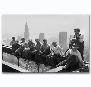 Rockefeller-Ironworkers-Construction-Art-POSTER-Wall-Decoration-X-475
