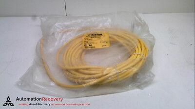 15M YELLOW FLEX LIFE CABLE 300V 5-PINS N #237601 9A TURCK RKM 50-15M//S101