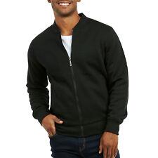 5c303d71bef8 item 1 Men Fleece Bomber Jacket Baseball Casual Cotton Zipper Zip-up  Outwear Classic -Men Fleece Bomber Jacket Baseball Casual Cotton Zipper  Zip-up Outwear ...