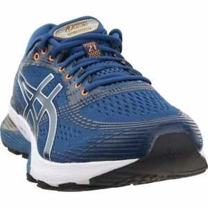 ASICS-Gel-Nimbus-21-Running-Shoes-Casual-Running-Shoes-Blue-Mens-Size-6-4E
