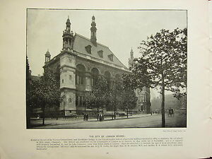 1896-VICTORIAN-LONDON-PRINT-TEXT-THE-CITY-OF-LONDON-SCHOOL