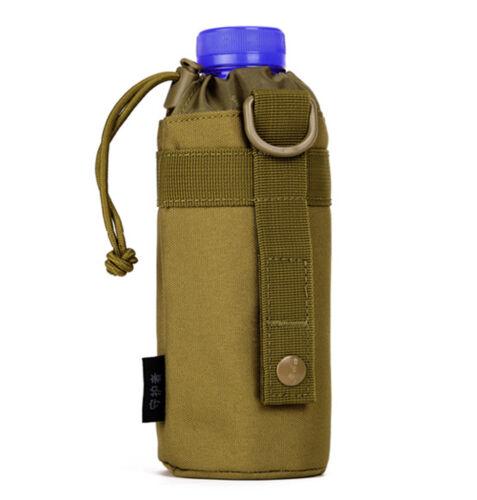 Bottle Pocket Belt Waist Fanny Pack Tactical Military Men Nylon Kettle Water Bag