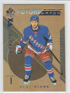 2018-19-UD-SP-AUTHENTIC-NEAL-PIONK-RC-50-GOLD-BOUNTY-ROOKIE-FW-SPECTRUM-FX