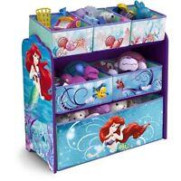 Delta Children Disney Little Mermaid Ariel Toy Storage Box Organizer