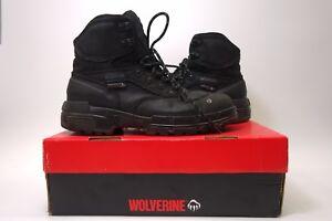 04899c12724 New Wolverine Mens Black Wolverine Legend Steel Toe Safety Work ...