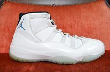 Nike Air Jordan XI 11 Retro WHITE LEGEND BLUE COLUMBIA 378037-117 SIZE 10.5 8/10