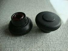 2x neuer schwarzer Blaupunkt Radioknopf aus 70/80ern neu aus altem Warenbestand