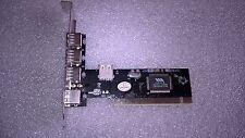 Scheda USB USB2.0 4+1 Porte USB 2.0 chip VIA VT6212L #