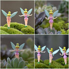 6X Fairy Miniature Figurine Garden Ornament Plant Pot Craft Dollhouse Mini Decor