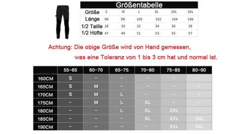 M-3XL DHL SANTIC Herren Fahrradhose Radsport Hose Lange Winddicht Fleece gr